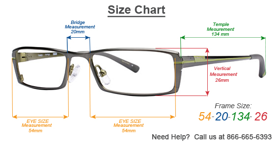 Eyeglasses Frame Measurements : 301 Moved Permanently